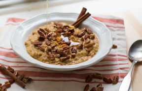 Pumpkin-Maple Spiced Oatmeal Recipe