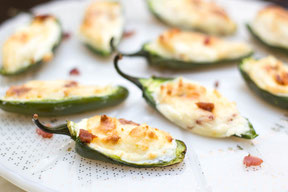 Easy Lighter Bacon Jalapeno Poppers Recipe