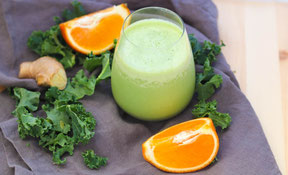 Orange-Ginger Green Smoothie Recipe