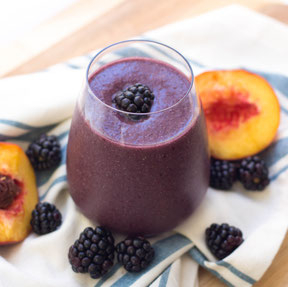 Blackberry Peach Smoothie Recipe