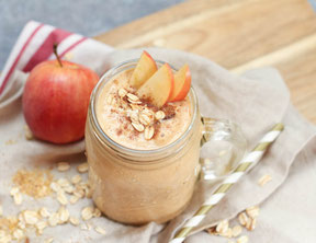Pumpkin-Apple Oatmeal Smoothie Recipe