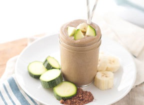Chocolate Zucchini Smoothie