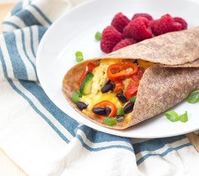 Southwestern Breakfast Burritos Recipe