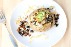 Vegetarian Southwestern Breakfast Potatotes