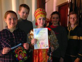 Школьники приняли на участии конкурса жестового пения