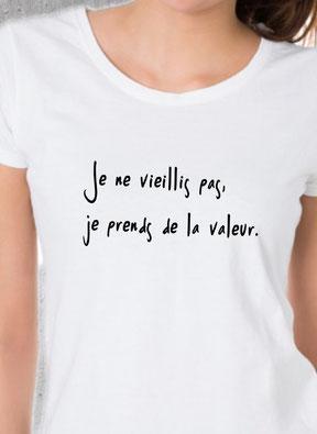 Teeshirt pour dame