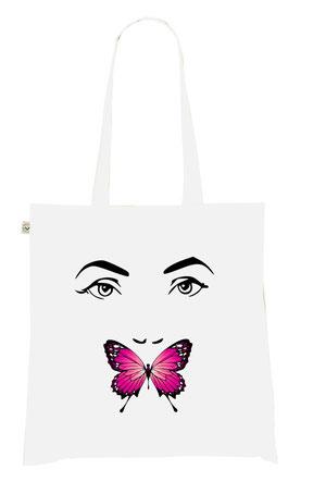 sac avec un papillon