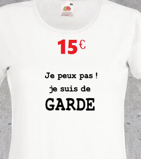 t shirt humour infirmiere
