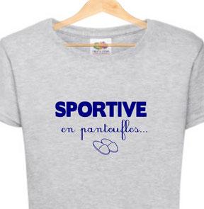 t shirt femme et le sport