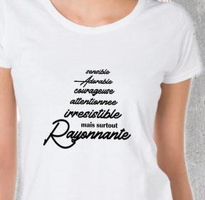 teeshirt humour femme