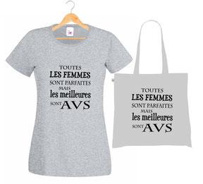 offrir un tee shirt AVS