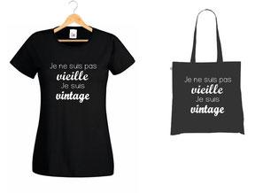 offrir un tee shirt vintage