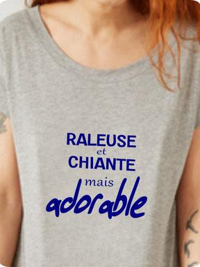 teeshirt drole femme raleuse
