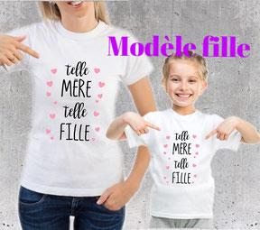 cadeau maman et fille