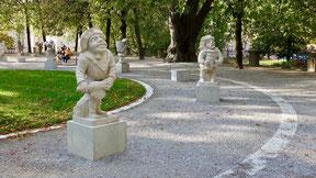 Reiseberichte: Zwergerlgarten in Salzburg