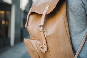 Bock Rucksack aus Ziegenleder
