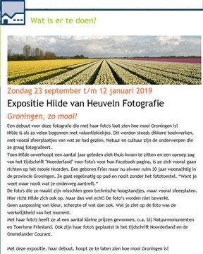 Aankondiging op www.dediekn.nl