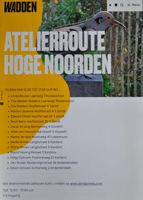 Aankondiging op www.visitwadden.nl