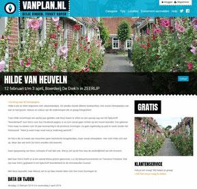 Vermelding foto-expositie De Diek'n bij www.vanplan.nl