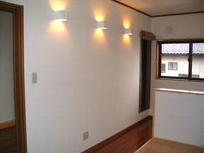 2階 照明