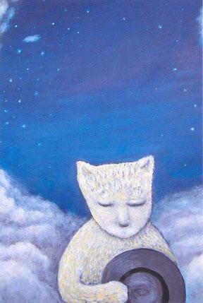 「星と雲と」F30号