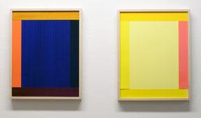 IMI KNOEBEL,  Acryl auf Vinylfolie anima mundi, 2010, je 46 x 36 cm, gerahmt ed 5