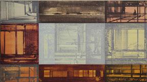 "Niklaus Erdmann   ""o.T."", 60x45cm Acryl/Leinwand 1999"