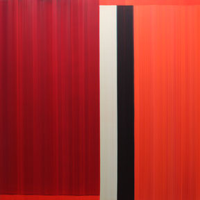 """Elisabeth Sonneck  """"Stimmlagen 2"""" 140 x 140cm Öl auf Leinwand 2009"""