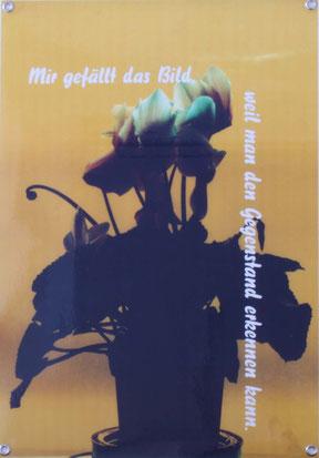 """Hanna Lentz  """"Blumenbilder"""" 5-teilig, Digitaldrucke 50x70cm Auflage 3 Stk."""