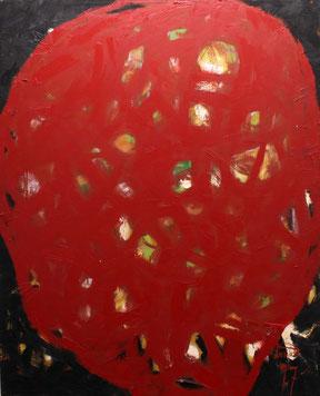 Eduard Bousrd Bangerl, ohne Titel, Mischtechnik / Molino 154 x 127 cm, 1997