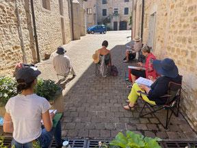 Stage de croquis 2017 Bresse et Ain