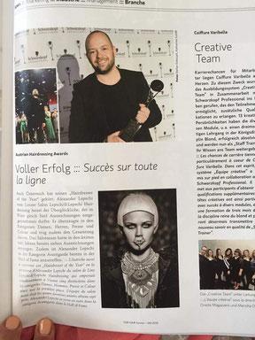 Bericht der TopHair Schweiz (Juni 2015)