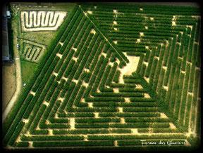 3 hectares de labyrinthe à découvrir