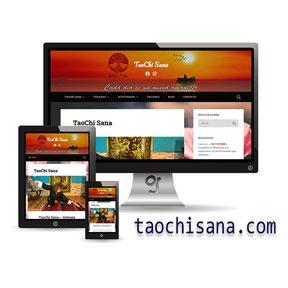 Página WEb de taichi por Granada Sites