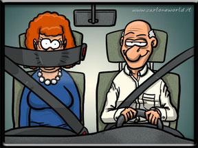 Cinture di sicurezza auto