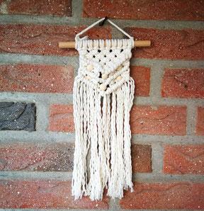 Makramee-Wandbehang, mini