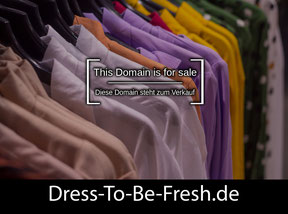 Dress-To-Be-Fresh.de - this domain is for sale