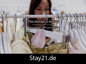 Stay21.de - this domain is for sale
