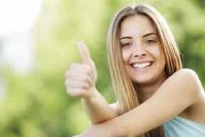 schmerzfreie einfühlsame Behandlung ohne Angst in entspannter und beruhigender Atmosphäre, Zuwendung und Vertrauen, Entspannungstraining, schmerzfreie Betäubung