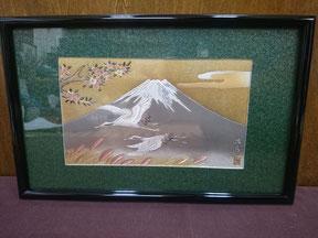 Chokin frame (M)    Mt.Fuji&crane ¥5,400