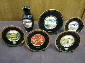 Chokin Plate, Vase  ¥1,210~¥2,700