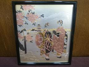 Chokin frame (L)   Apprentice geisha