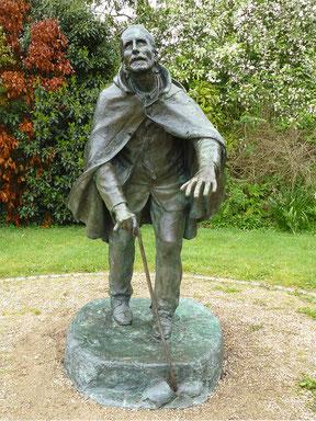 Statue de l'Aveugle à Pontivy