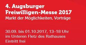 Freiwilligen-Zentrum Augsburg - 4. Augsburger Freiwilligen-Messe 2017
