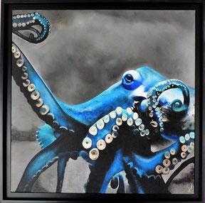 Bleus des mers - 60x60 - 2019