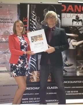 Tanzschule des Jahres Innsbruck