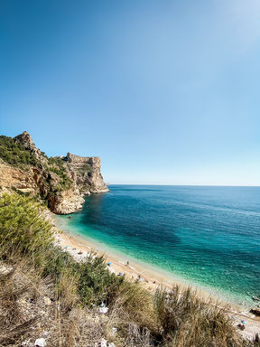 Cala del Moraig, Spanien
