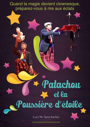 Luciole Spectacles Production intervient sur toute la région Centre-Val de loire et la région Parisienne avec un spectacle où magie et rire font très bon ménage !