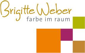 Logo Brigitte Weber Farbe im Raum