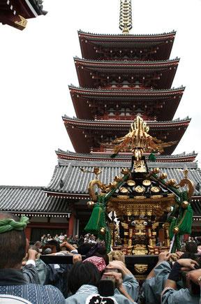 〈SANJA MATSURI Festival〉Asakusa, TOKYO ⓒreal Japan 'on